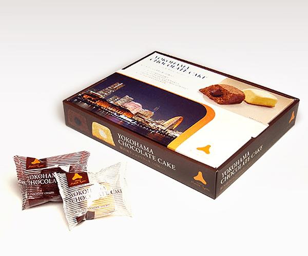 横浜焼きショコラケーキ パッケージ