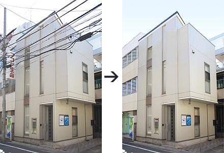 画像の加工・修正イメージ