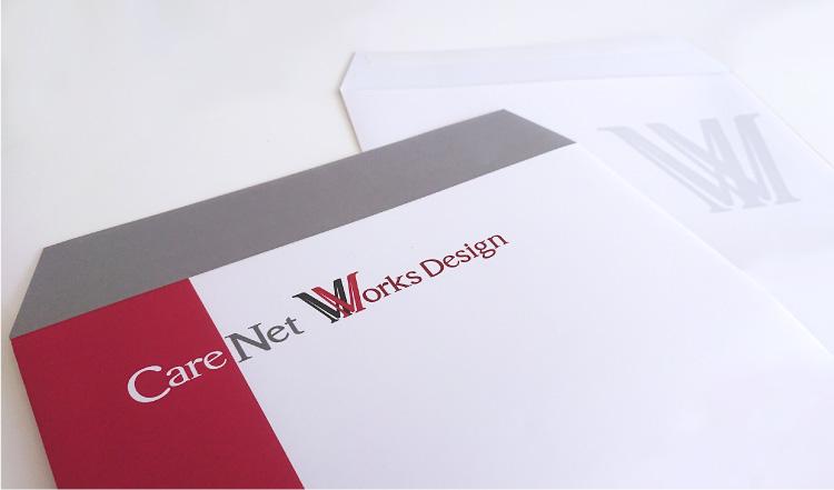 CareNet Works Design様 封筒写真