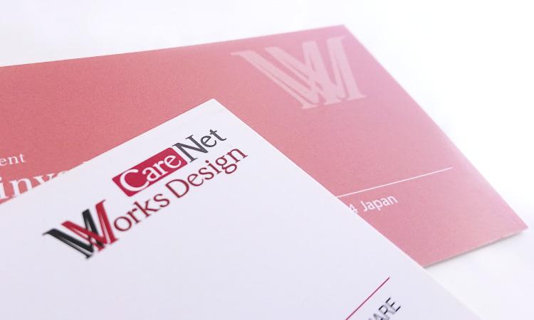 CareNet Works Design様 名刺写真